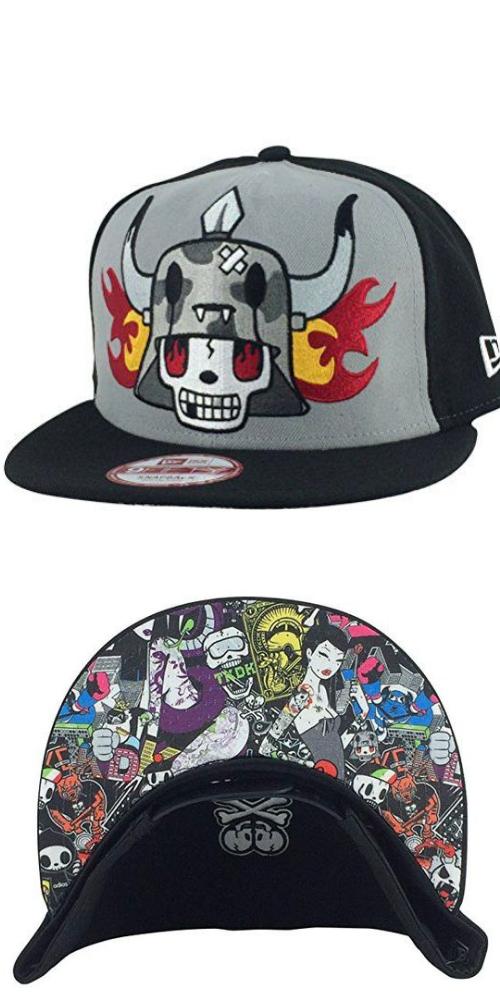 77f457f5d6038 New Era Tokidoki Pavement Grey Black 2tone Printed Underbill Snapback Hat