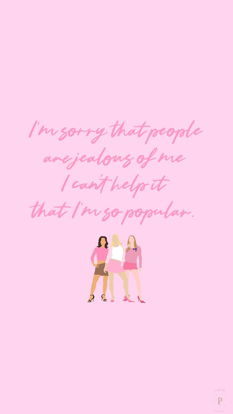 Pin by Hermioneg on Mean girls (With images) Girl iphone