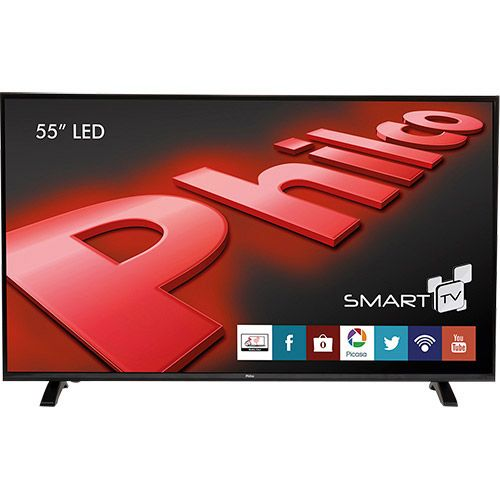 Americanas Smart Tv Led 55 Philco Ph55e30dsgw Full Hd Com