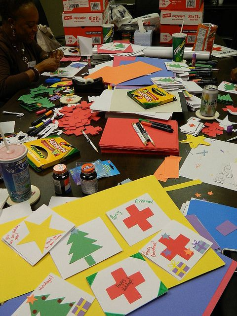 Holiday Mail For Heroes By American Red Cross, Palmetto SC
