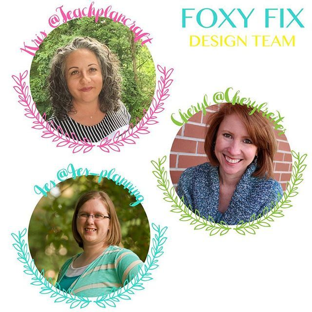 I have a pretty fun announcement! We have our first official Foxy Fix Design Team! They are going to lead the way with our new bujo planning and journal stamps! The team is going to kick off our official Foxy Fix Blog (will be published on the website) and Youtube (thefoxyfix)! I would love to introduce you to Jes Brandon IG @jes_planning, Kristine Bryant @teachplancraft and Cheryl Cooke Reiter @cherylreiter!  Kris & Jes's Blog: http://kjbstamping.blogspot.sg/ Cheryl's Blog…