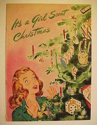 Girl Scout Christmas Catalog Gift Advertising Brochure 1945