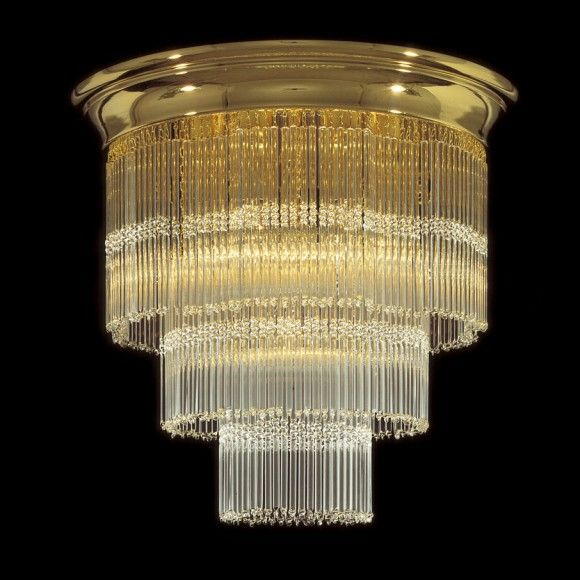 Kolarz Art Deco Crystal Ceiling Light L amp  Light 灯 Pinterest