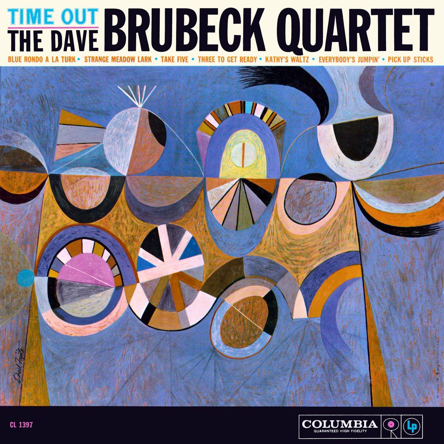 The Dave Brubeck Quartet Quot Time Out Quot Lp Cover Full