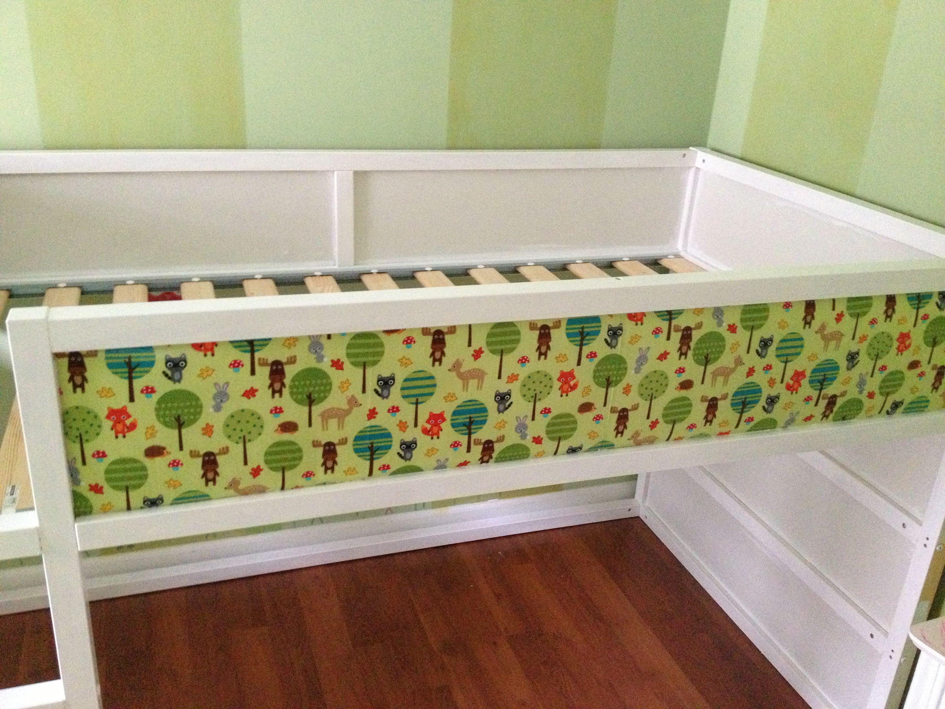 Suburbs Mama Nursery In Master Bedroom: IKEA Kura Bed Hack & Garden-Themed Bedroom