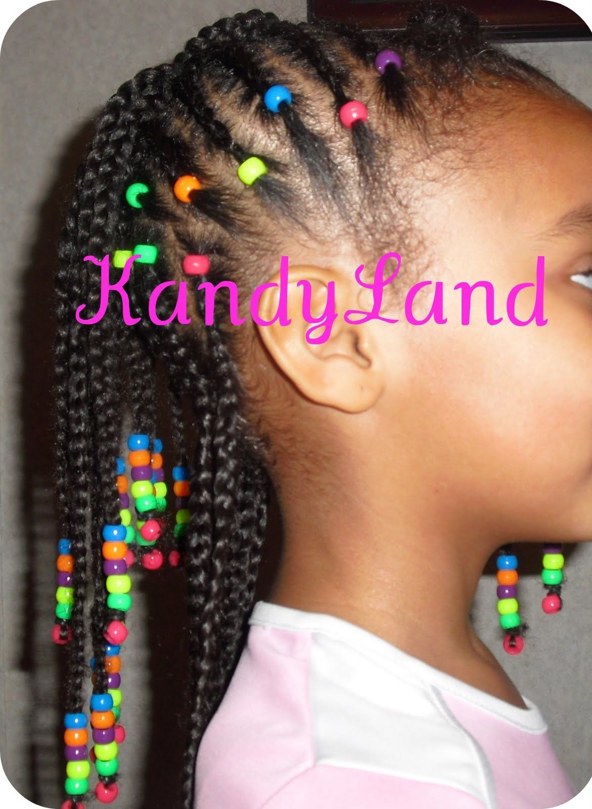 Rainbow braidhawk bead style girls hair pinterest rainbows