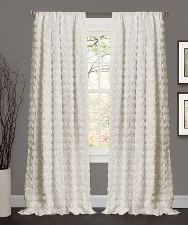 Only 39 99 Marked Down From 130 Hurry Ivory Emma Curtain Panel