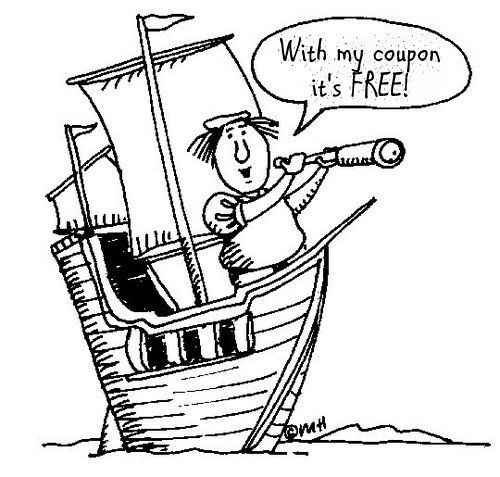 Happy Columbus Day! The Couponing Couple
