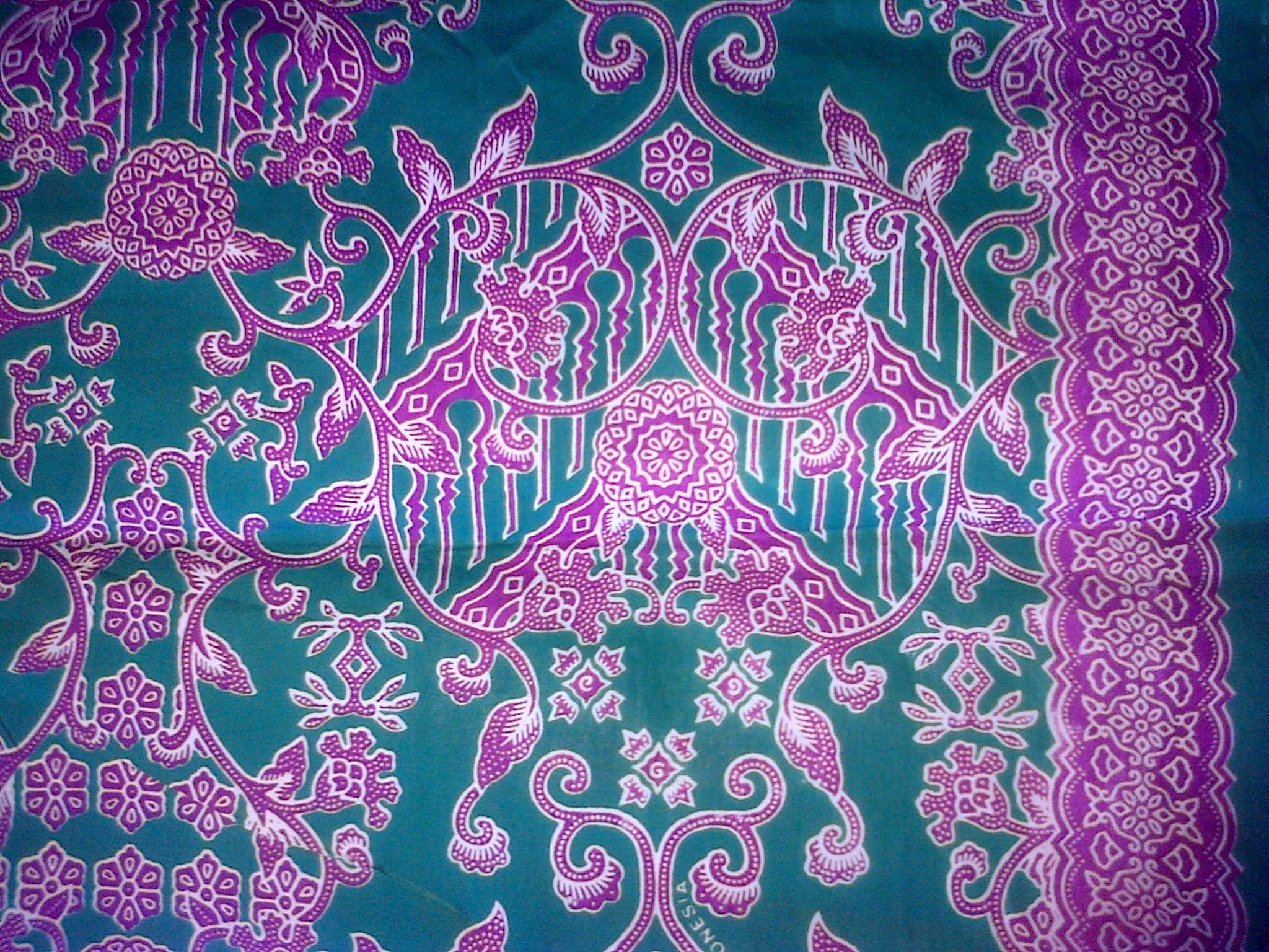 Model Gamis Batik Haji Indonesia di 9  Gambar, Modern, Pola