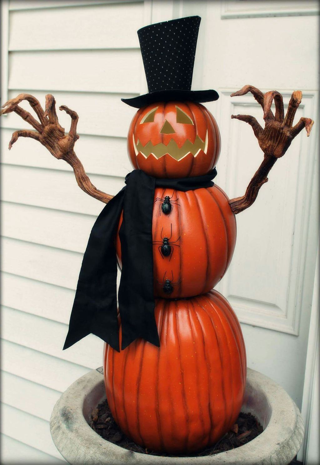 Cool 88 Scary Fall Yard Decoration Ideas You Should Try More at - Halloween Yard Decorations Ideas