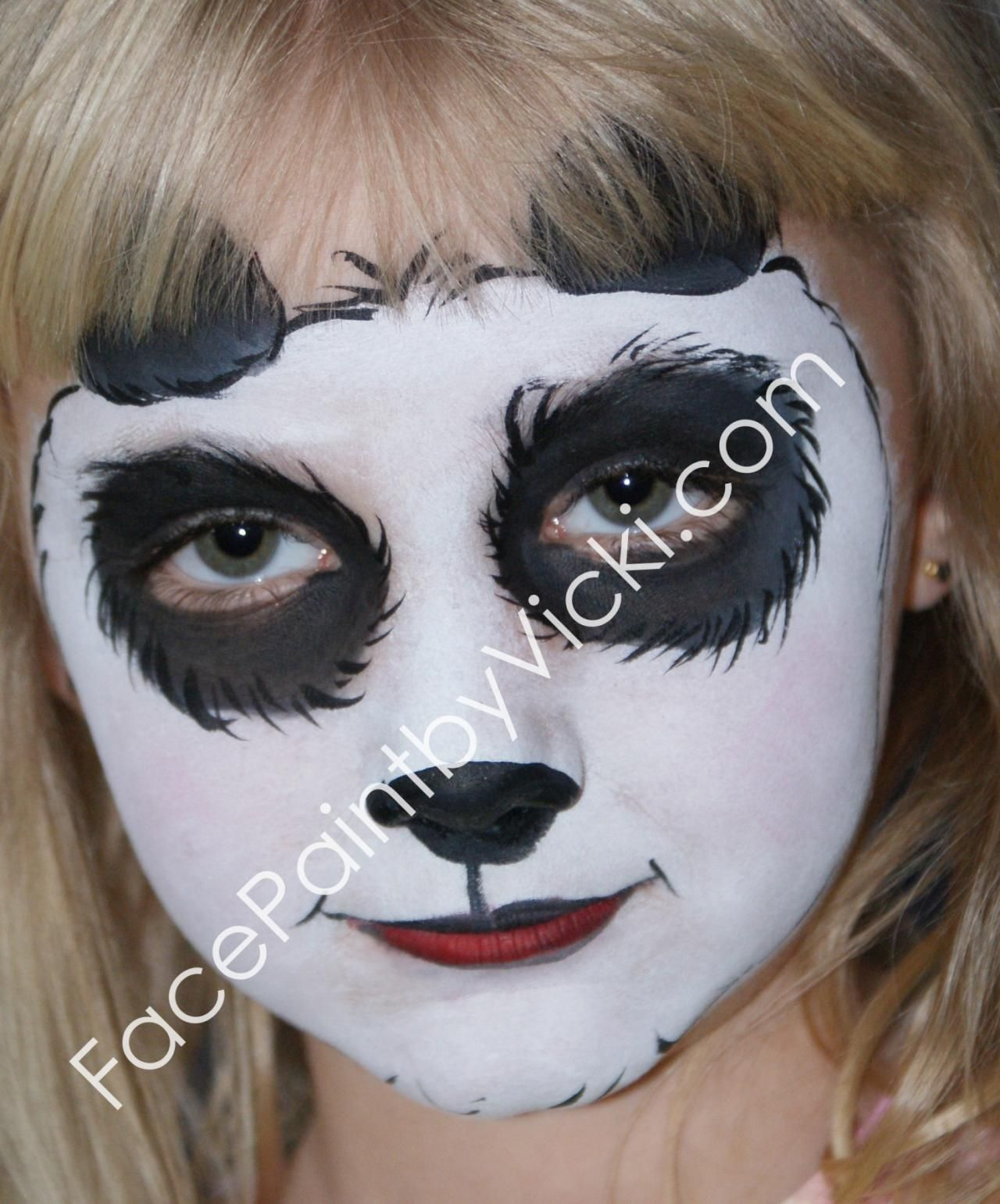 panda makeup | Please click on a picture to view a larger version ...