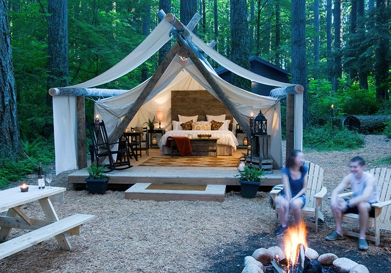 Gl&ing in Olympia WA & Glamping in Olympia WA | Location Location Location | Luxury ...