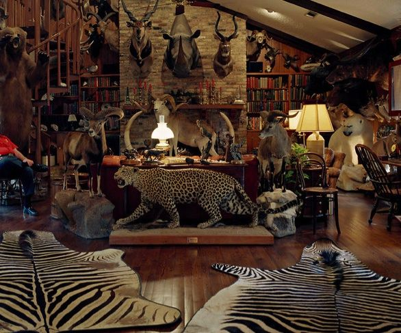 Hunting Man Cave Ideas