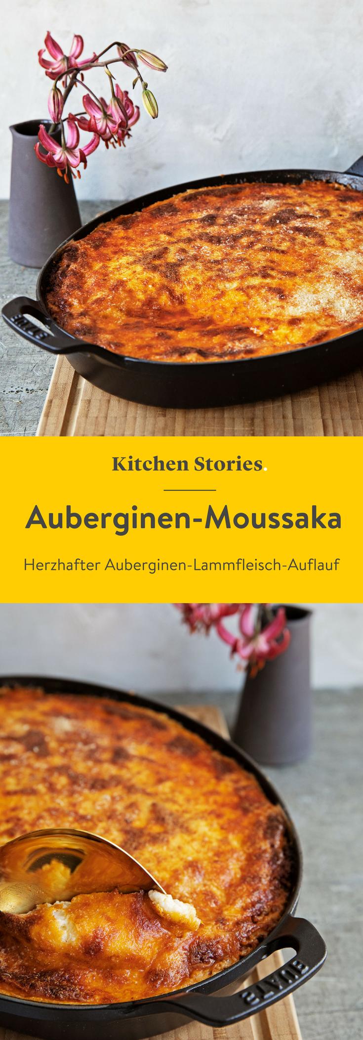 Auberginen-Moussaka #moussakagriechisch