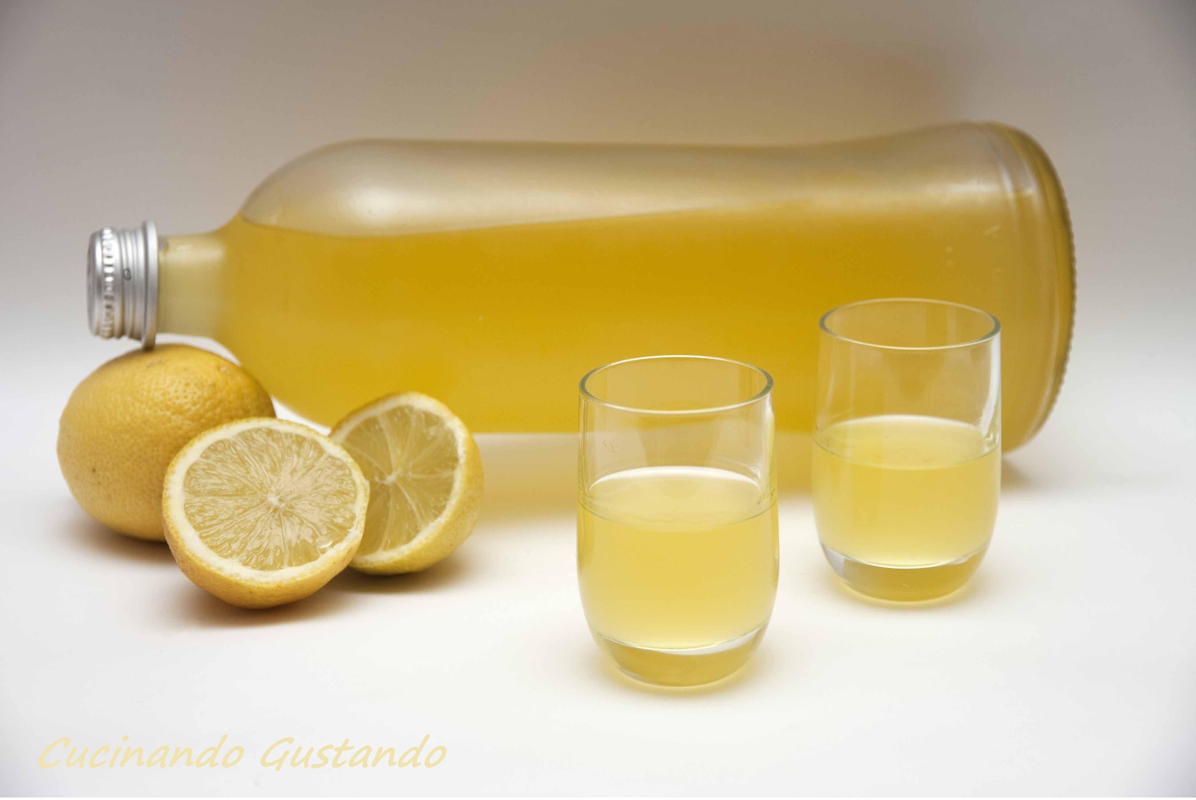 Ricetta Limoncello Fatto Con La Grappa.Ricetta Limoncello Fatto In Casa Liquore Al Limone Limoncello Liquori Limonata Fatta In Casa