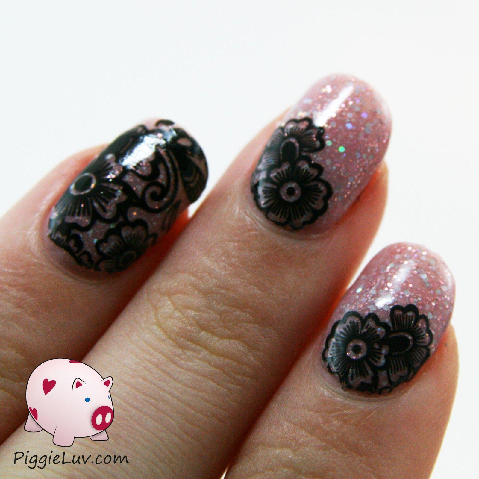 Easy nail art with Kiss Nail Tattoos | Pinterest | Kiss nails, Nail ...