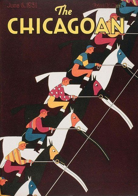 The Chicagoan, June 6, 1931  Source: Vintage Advertising and Poster Art