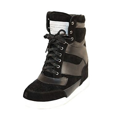Leather Women's Low Heel Comfort Fashion Sneakers Shoes(More Colors) – USD $ 99.99