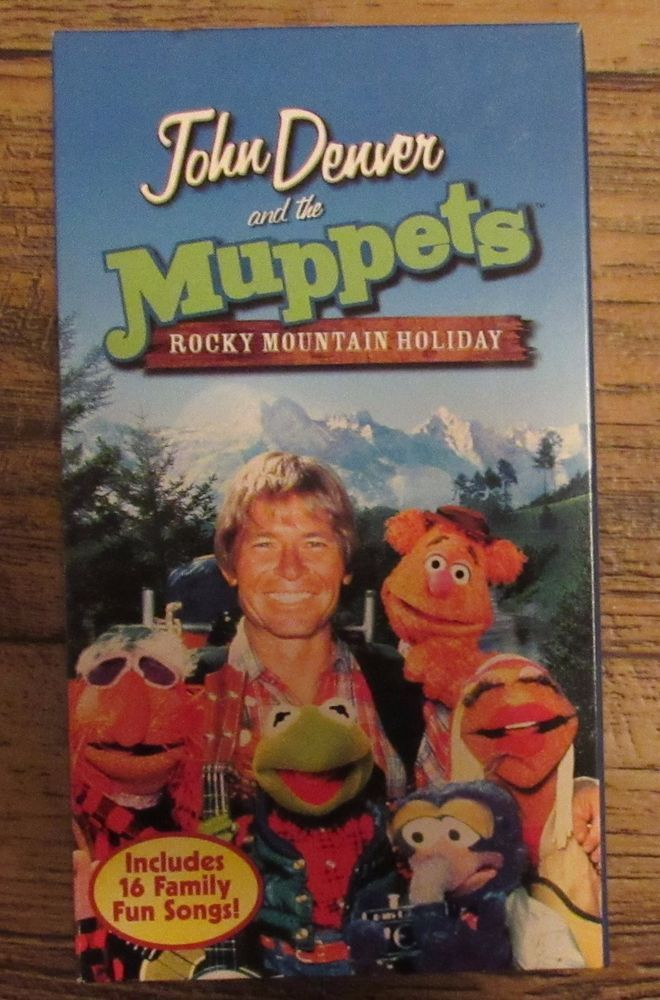 John Denver and the Muppets - A Rocky Mountain Holiday VHS Christmas ...