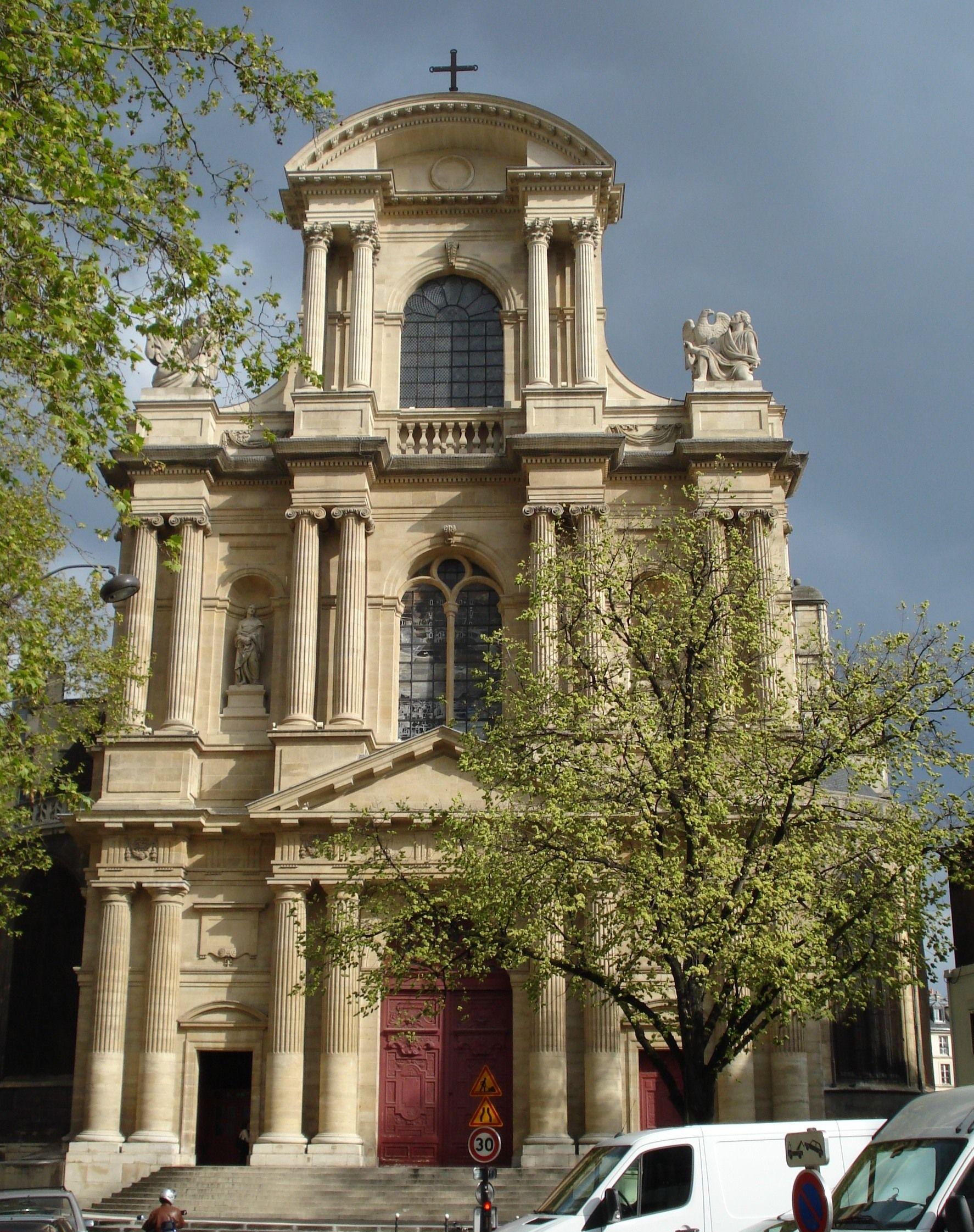 St gervais et st protais church current building begun for Architecture francaise