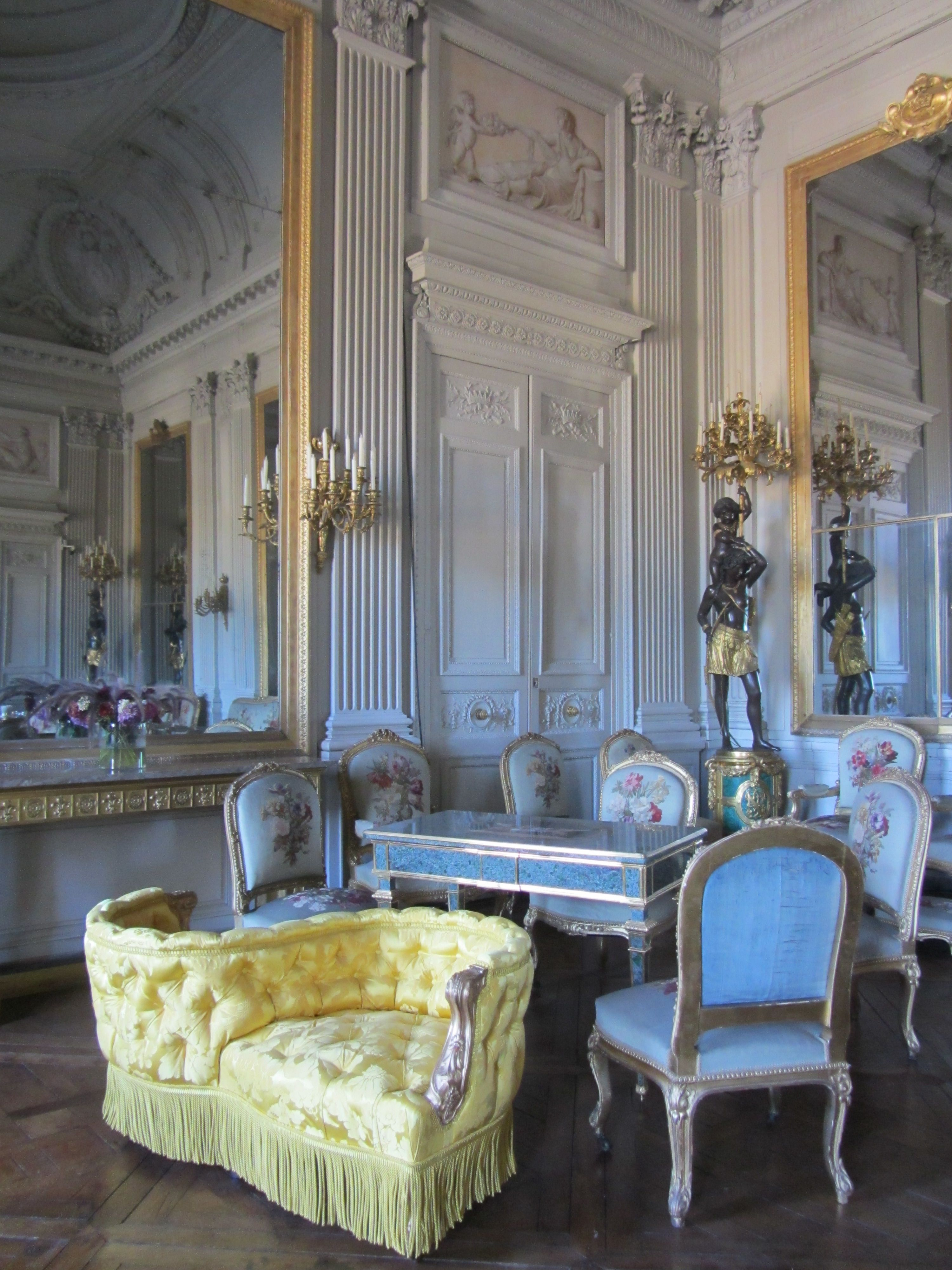 Chateau De Compiegne Interior France Interiordesign Chateaux