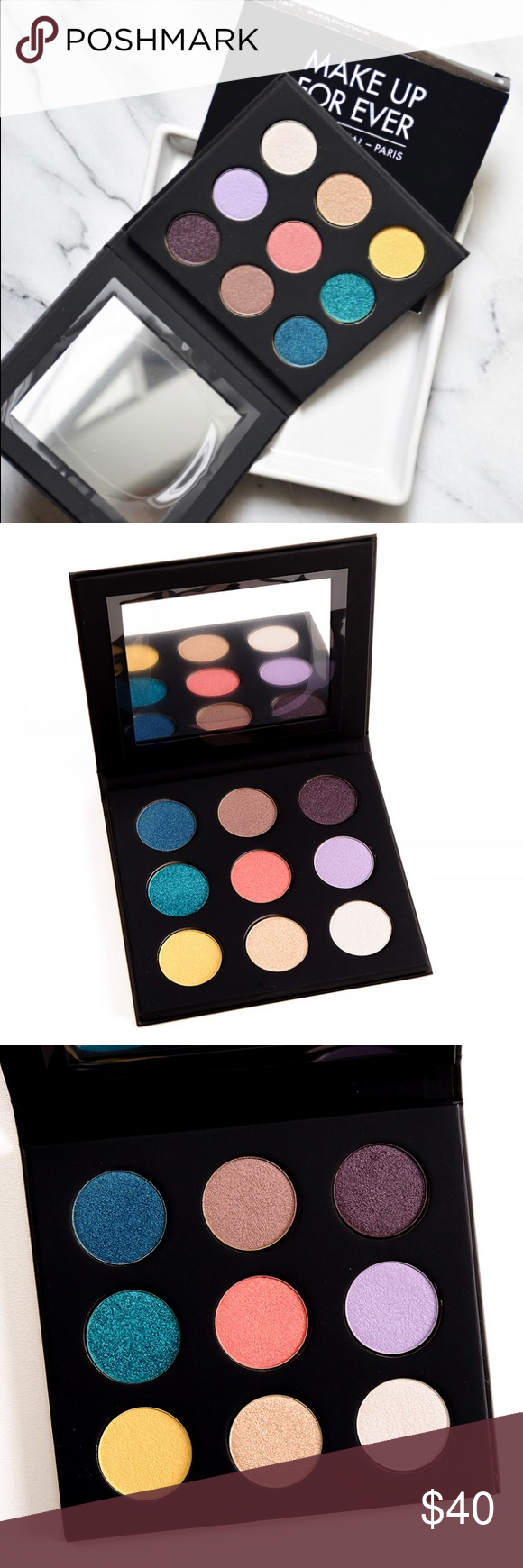 Limited edition Makeup Forever Artist palette 3