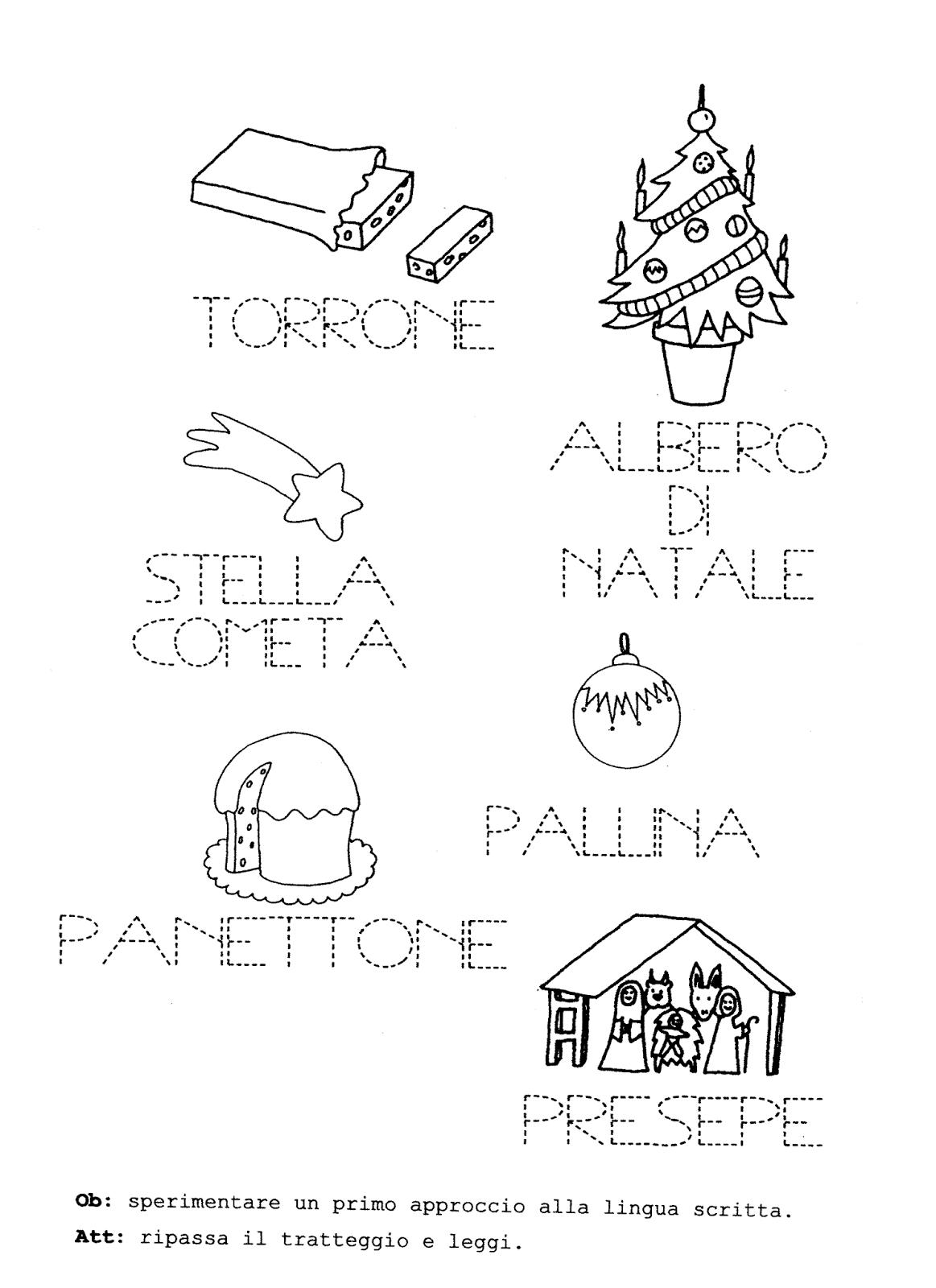 La Maestra Linda Natale Grafismo E Pregrafismo Painting