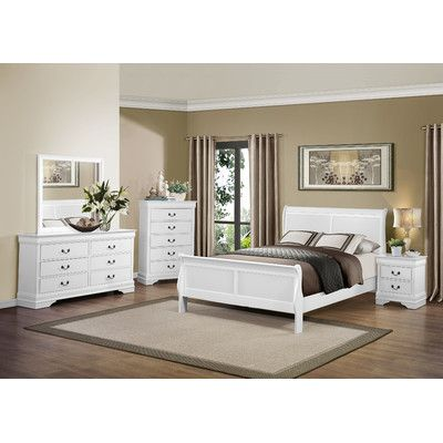 Alcott Hill Waynesburg 5 Drawer Chest Color White Products