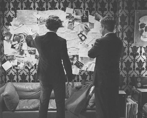 Joining the dots. #Sherlock