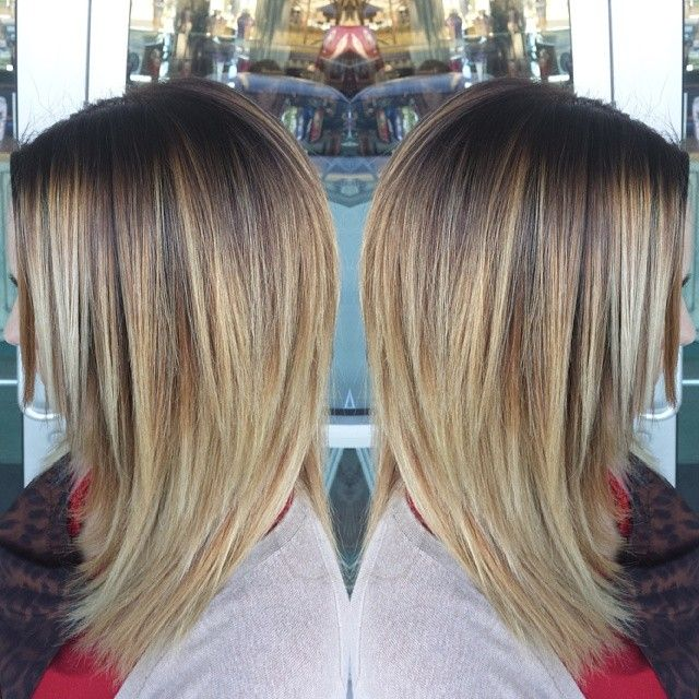 Tips On Blending Great Colors With Beige: Blended Roots Into A Soft Beige Blonde Balyage