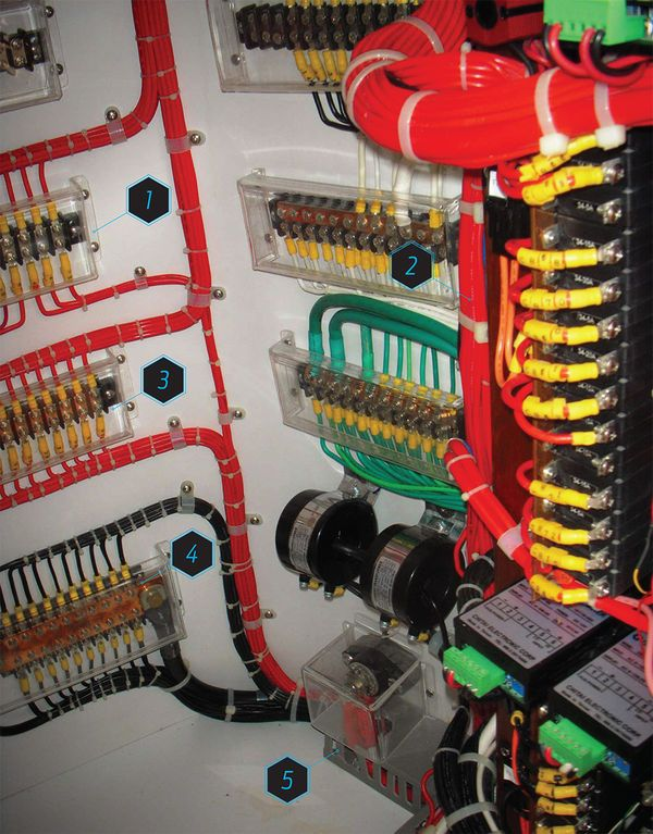 Boat Electrical System Safety Tips Boat Wiring Electricity Boat Plans