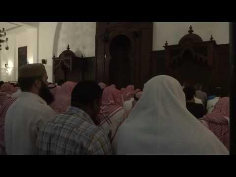 دعاء القنوت في صلاة التراويح للشيخ خالد الجليل الليلة الأولى من ليالي شهر رمضان المبارك 1437هـ