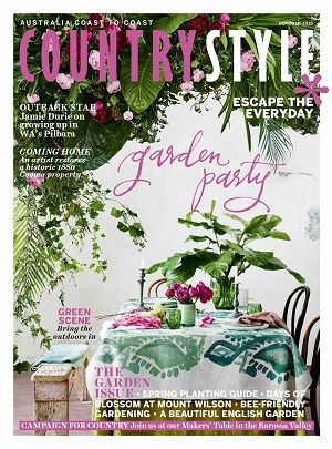 @countrystylemag #magazines #covers #2016 #october #garden #spring #escape #everyday #country