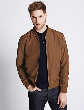 Baseball Bomber Jacket with Stormwear™ | Clobber | Pinterest ...