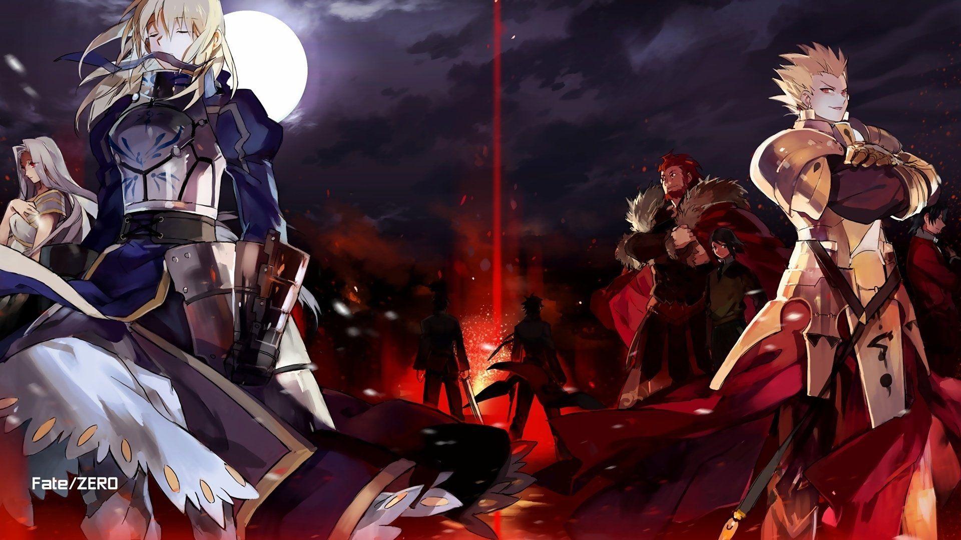 Anime Fate Zero Fate Series Saber Fate Series Gilgamesh Fate Series Wallpaper Fate Zero Fate Stay Night Fate Wallpaper anime fate stay saber fate