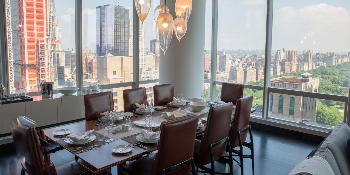 A 1 369 Square Foot One Bedroom Apartment On The 38th Floor Costs 5 25 Million Or 3 835 Per