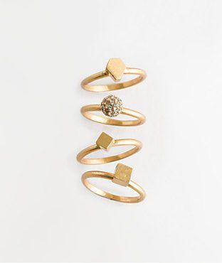 Sparklecluster Rings