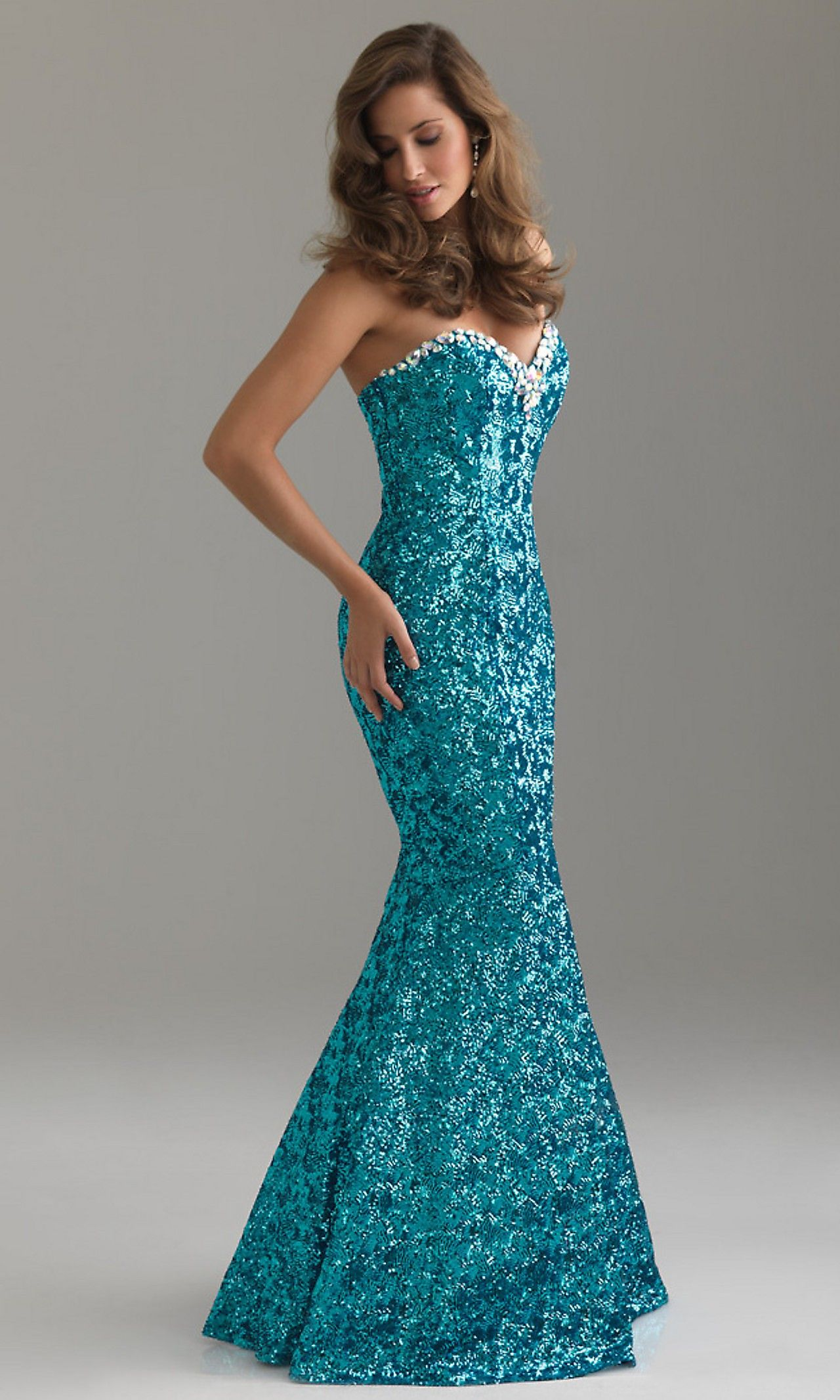 Extravagant Night Moves Evening Gown | Fashion | Pinterest | Night ...
