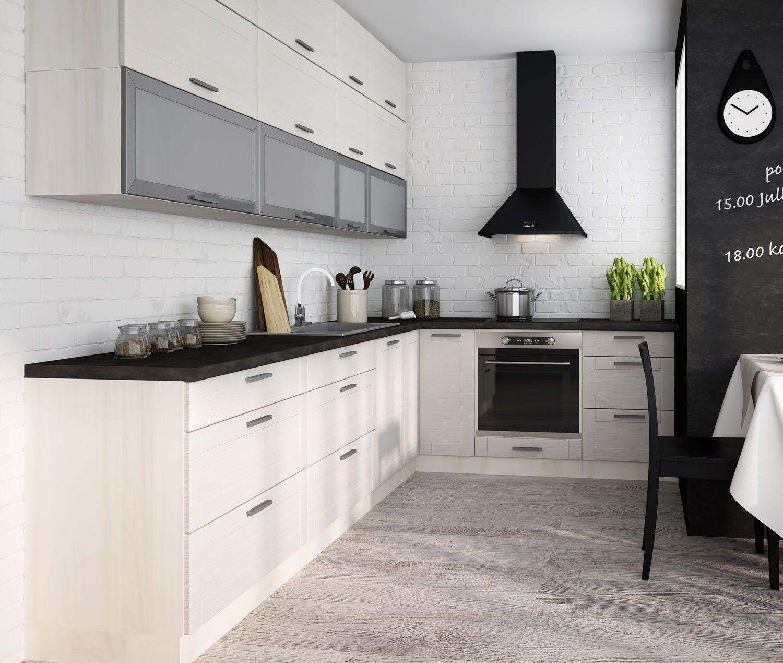 fino weiss neu | Einbauküche, Küche block, Ikea küche