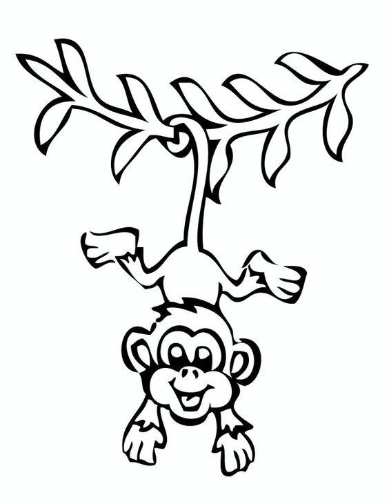 Pin Von Juanis Hernandez Auf Affe Malvorlagen Ausmalbilder Affe Malen Ausmalen