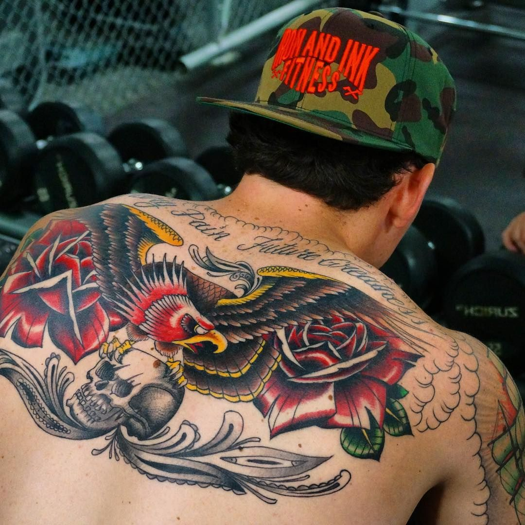 Tattoo designs on the back - 90 Superb Back Tattoo Designs For Men Womens
