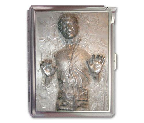 Han Solo Carbonite Cigarette Case Lighter Wallet Business Card