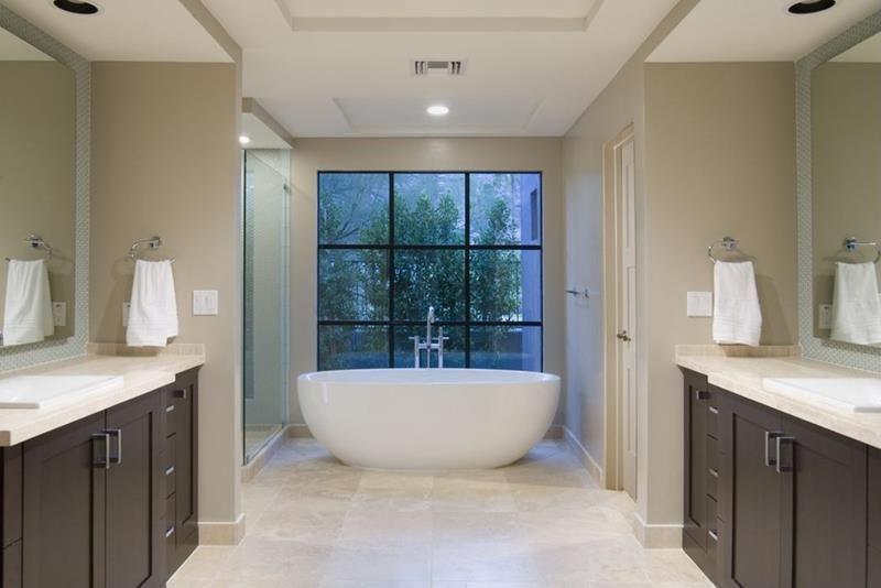 Beautiful Ideas For Master Bathroom Windows Page Of - Master bathroom windows