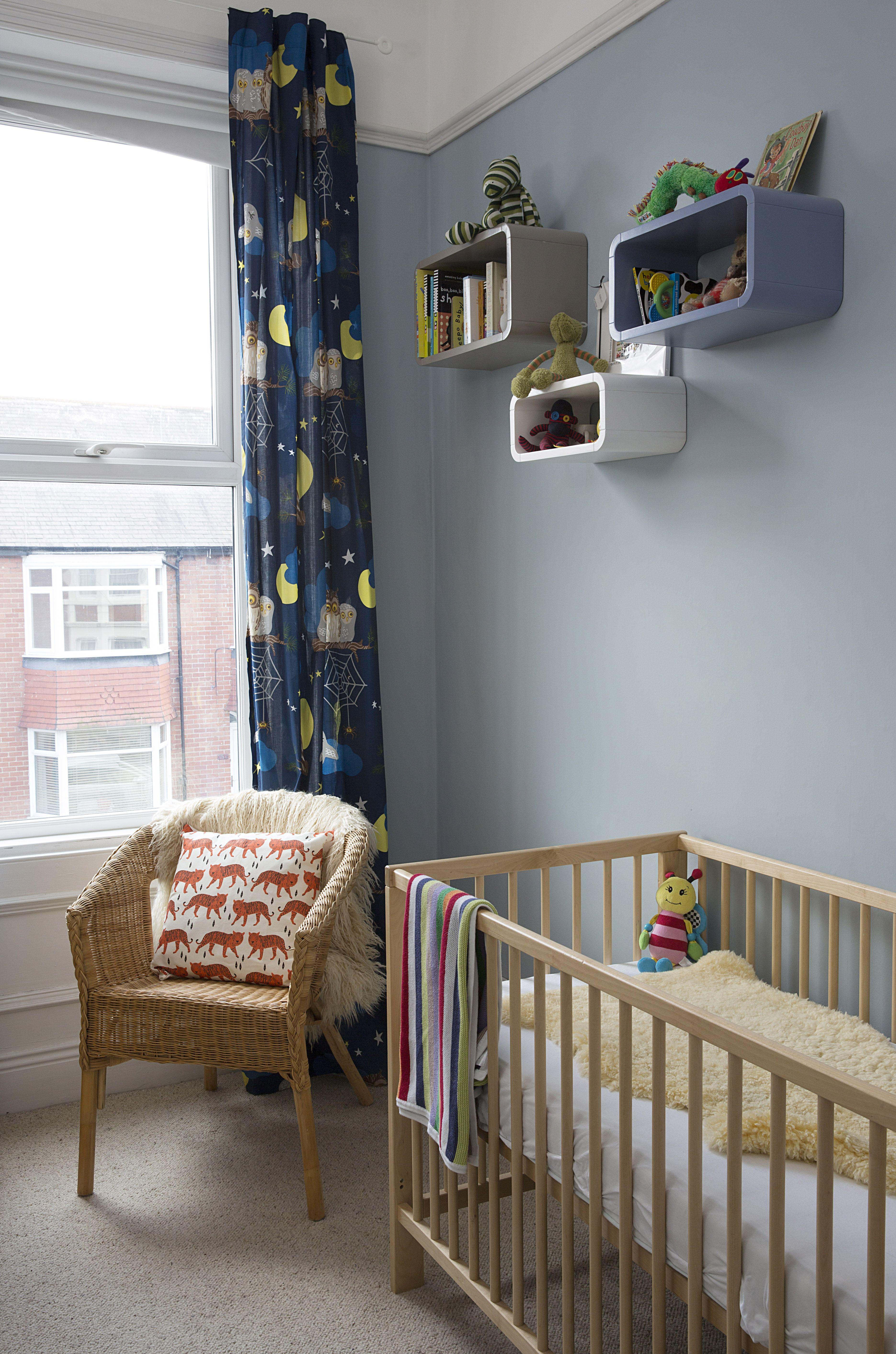 Nursery Farrow Ball Parma Gray Sheepskin Ikea Cot