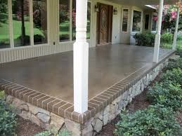 Image Result For Painted Concrete Patio
