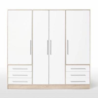 JUPITER Armoire de chambre style contemporain en bois aggloméré ...