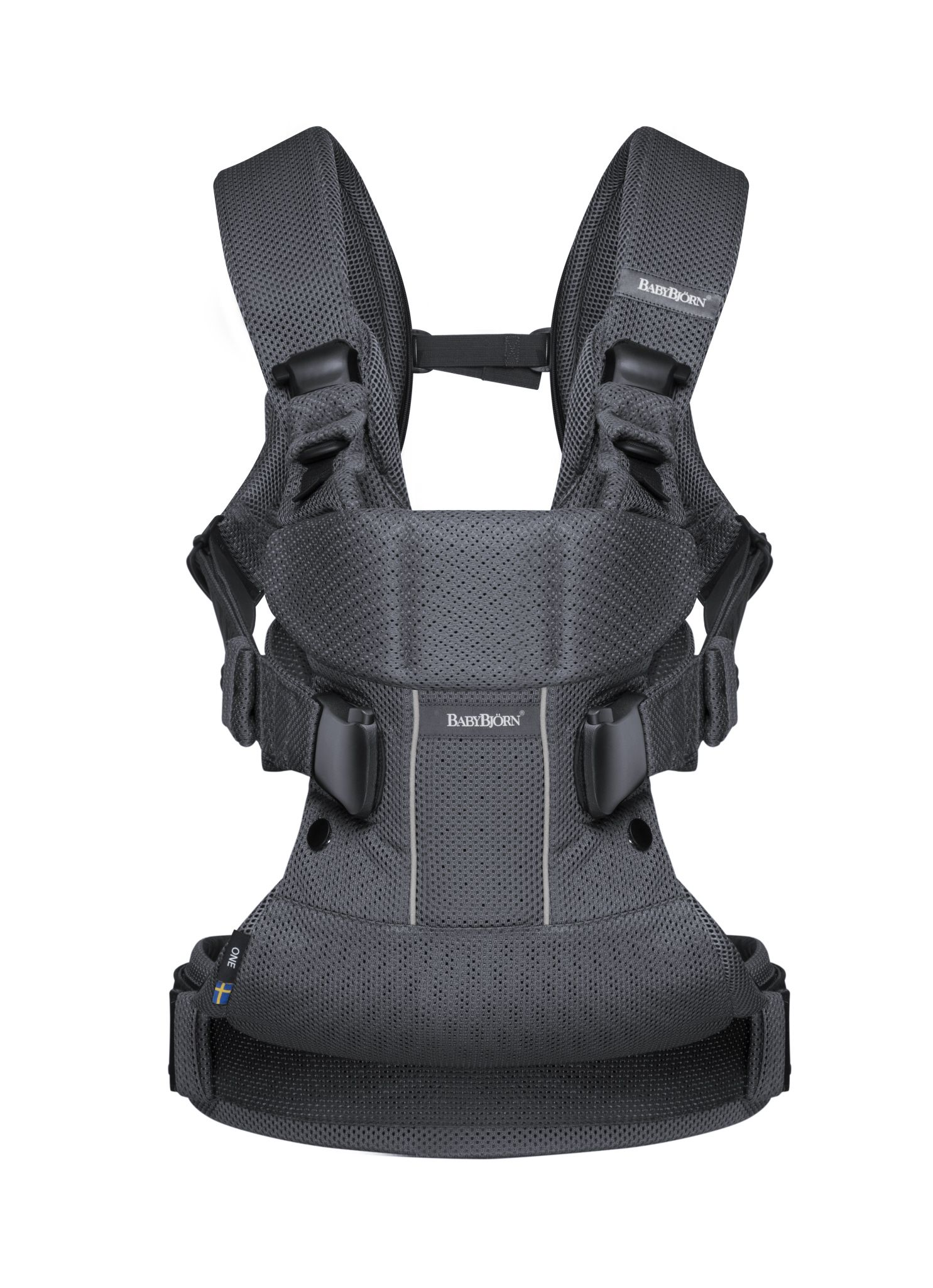 ac013cbbeeb Baby Bjorn One Carrier Anthracite Mesh