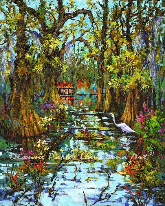 Amazing Landscape Art Bayou