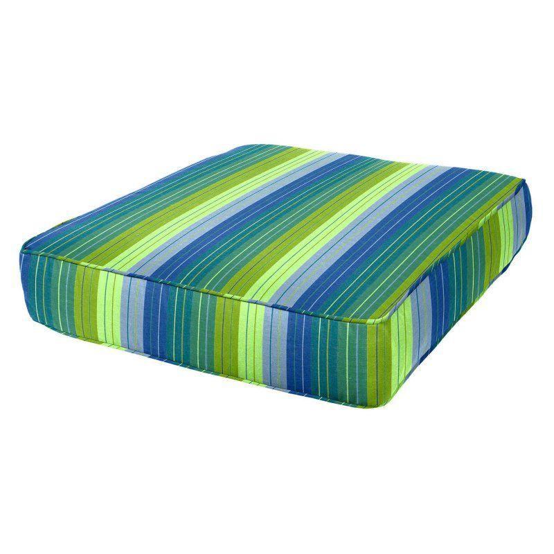 Cushion Source 26 X 30 In Striped Sunbrella Deep Seating Chair