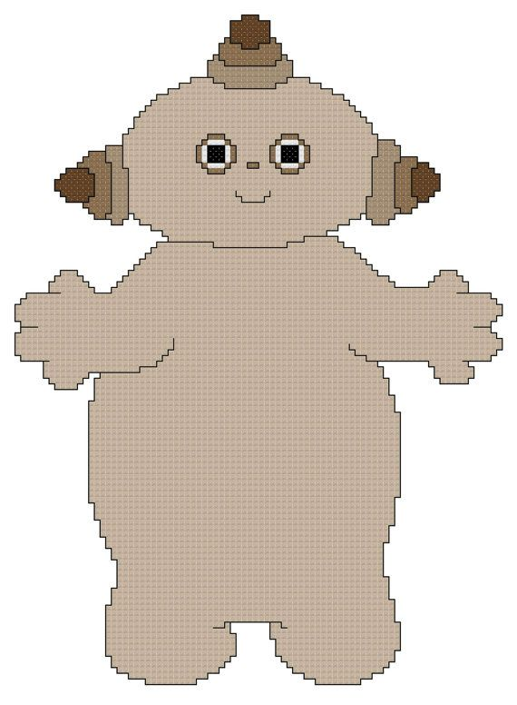 Makka Pakka Cross Stitch Pattern | peluches bebé | Pinterest ...